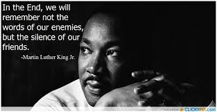 MLK JR 4 Silence